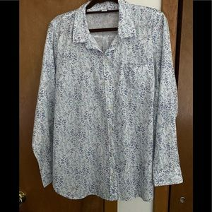 Old Navy button blouse.